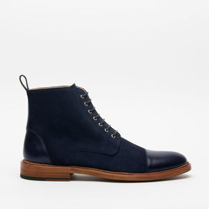 Troy Boot in Navy side view