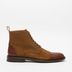 Troy Boot Cognac Side