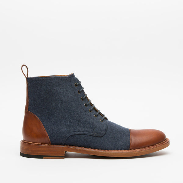 Jack Boot Navy Side