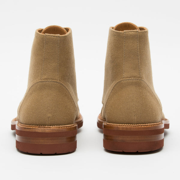 Jaro Boot in Khaki back view