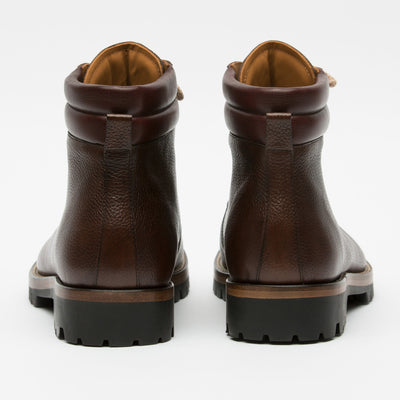 Viking Boot Brown Back