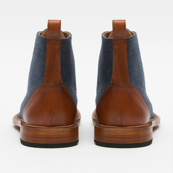 Jack Boot Navy Back
