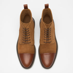 Troy Boot Cognac Top