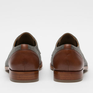 Jack Shoe Grey - Brown Back