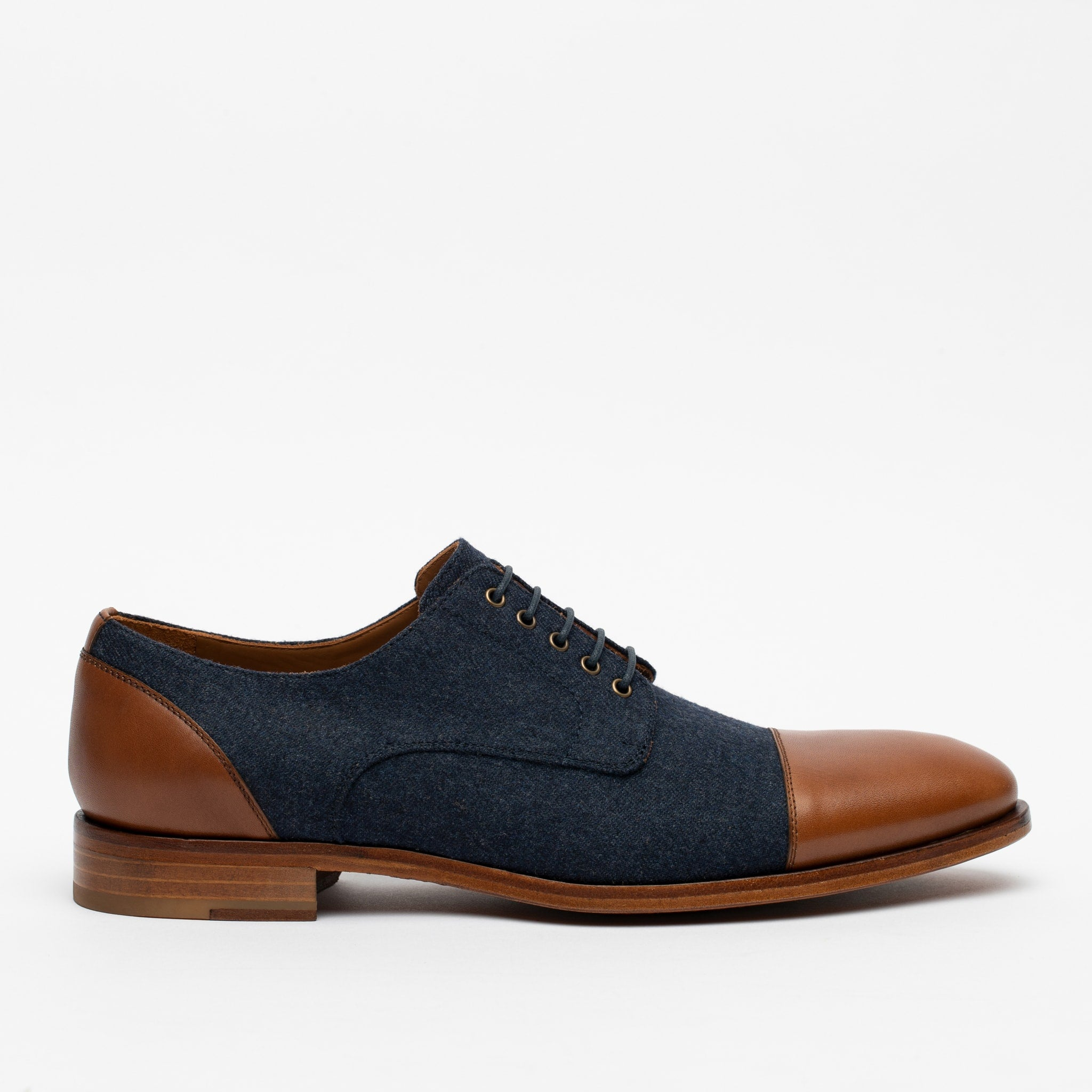 Jack Shoe in Navy side view