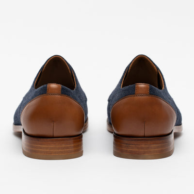 Jack Shoe in Navy back view