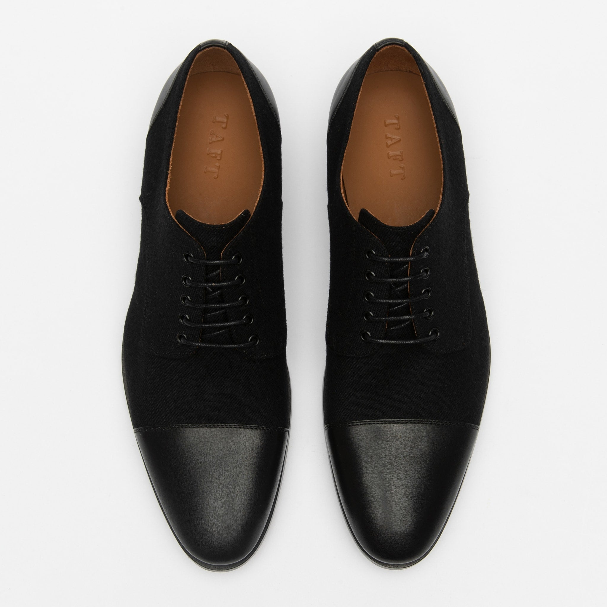 Jack Shoe in Black top view