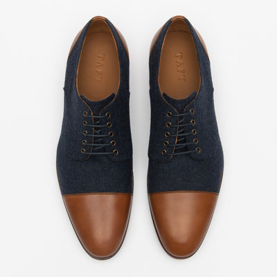 Jack Shoe in Navy top view