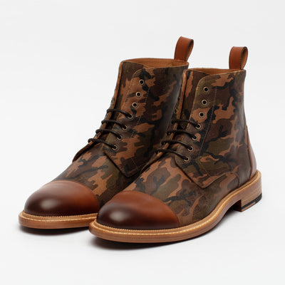 Troy Boot in Camo angle view