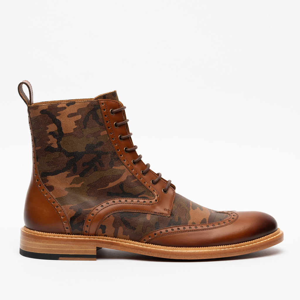 Saint Boot in Camo side view