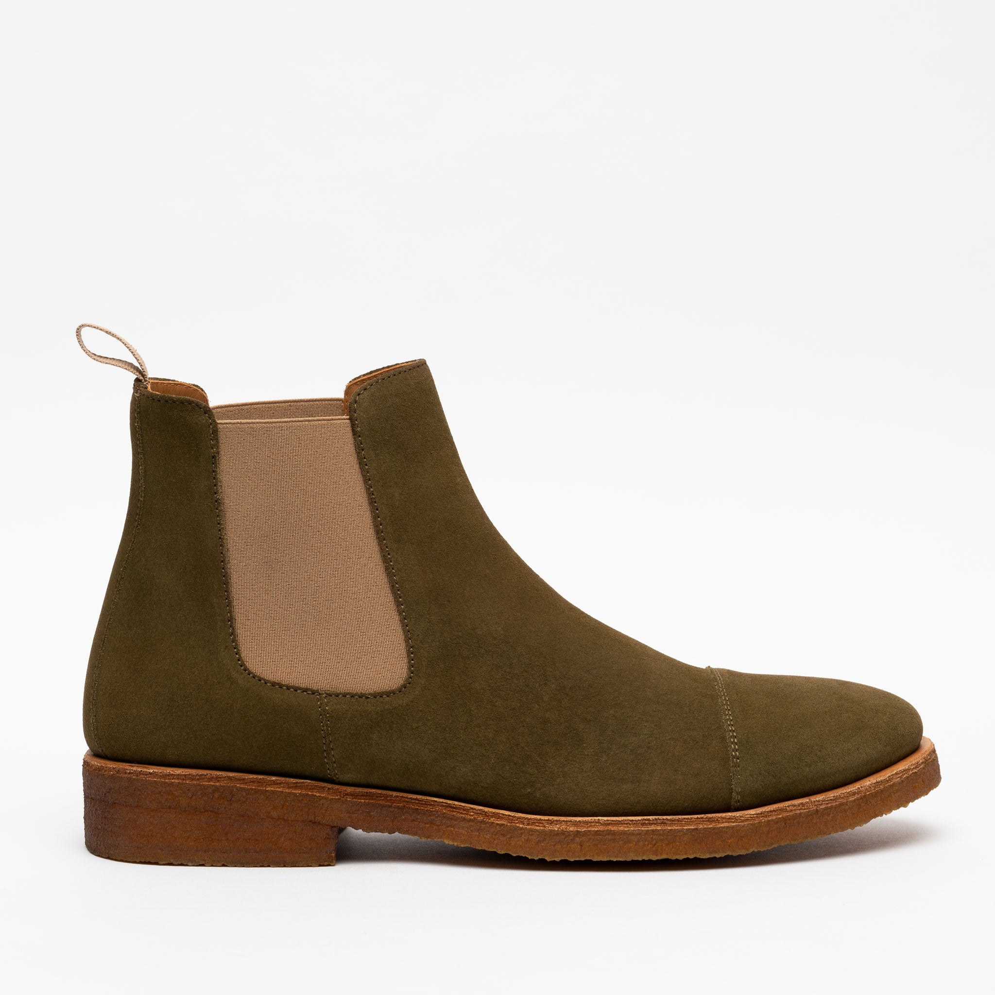 The Outback Boot in Olive