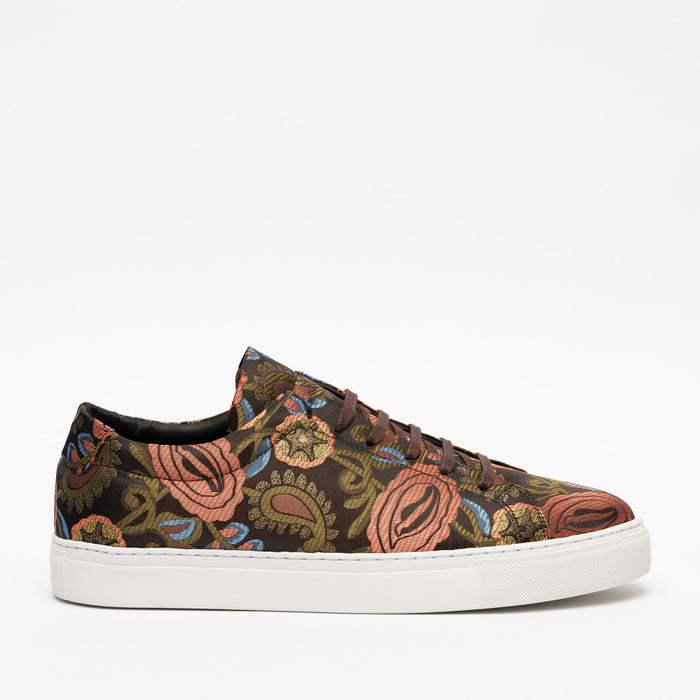 The Sneaker in Pink Floral