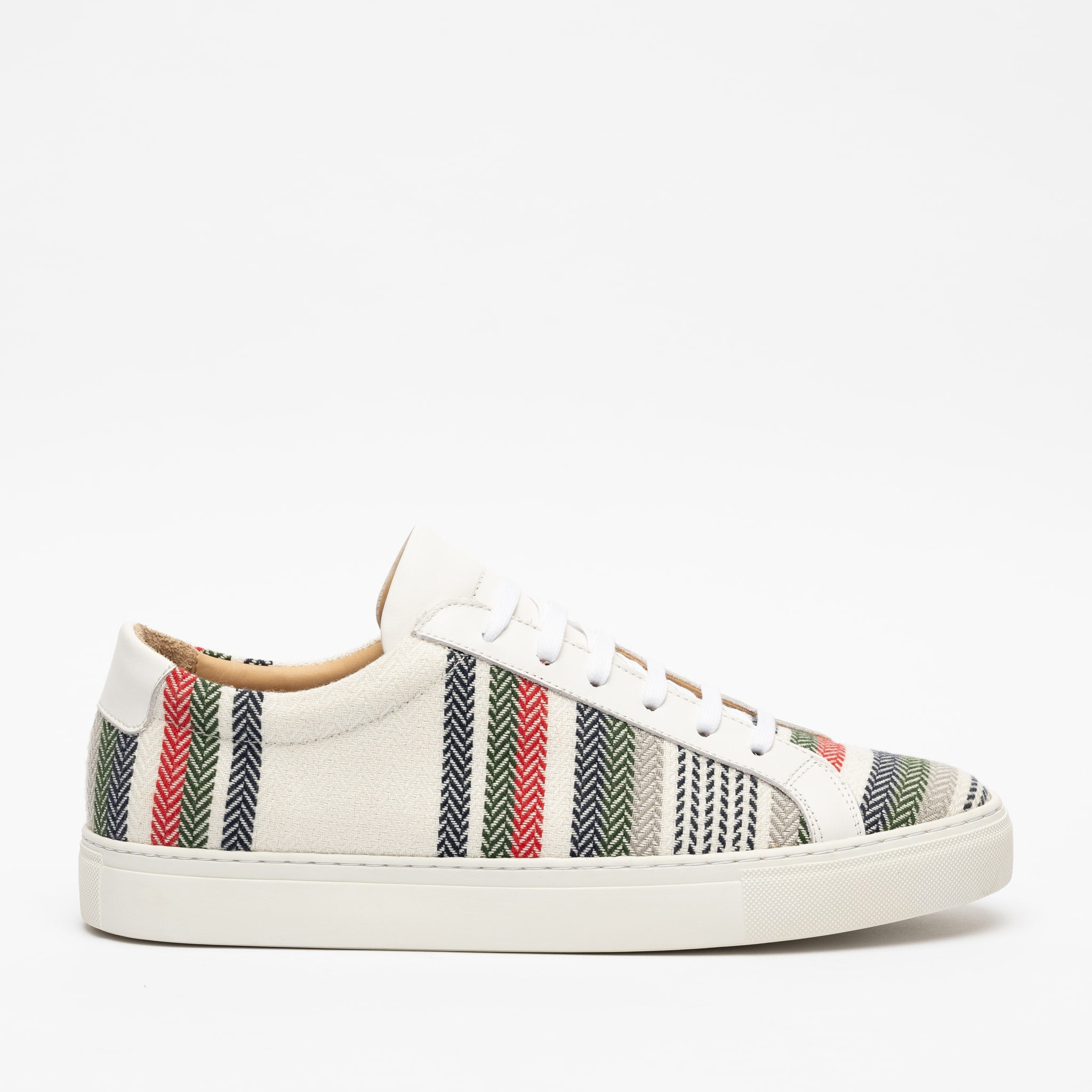 Sneaker in Stripes side view