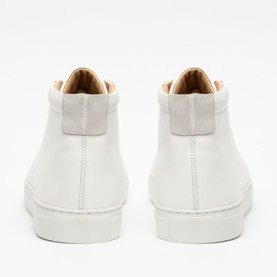 The Hightop in White (Last Chance, Final Sale)