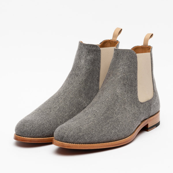 Jude Boot in Grey angle view