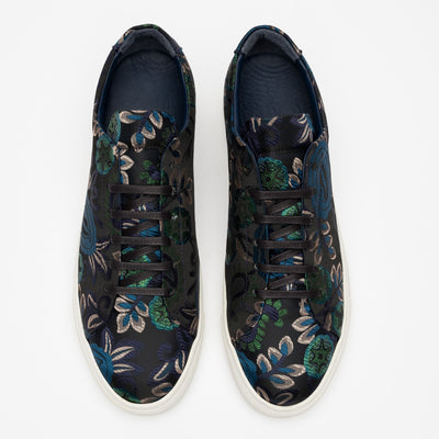 The Sneaker in Blue Floral
