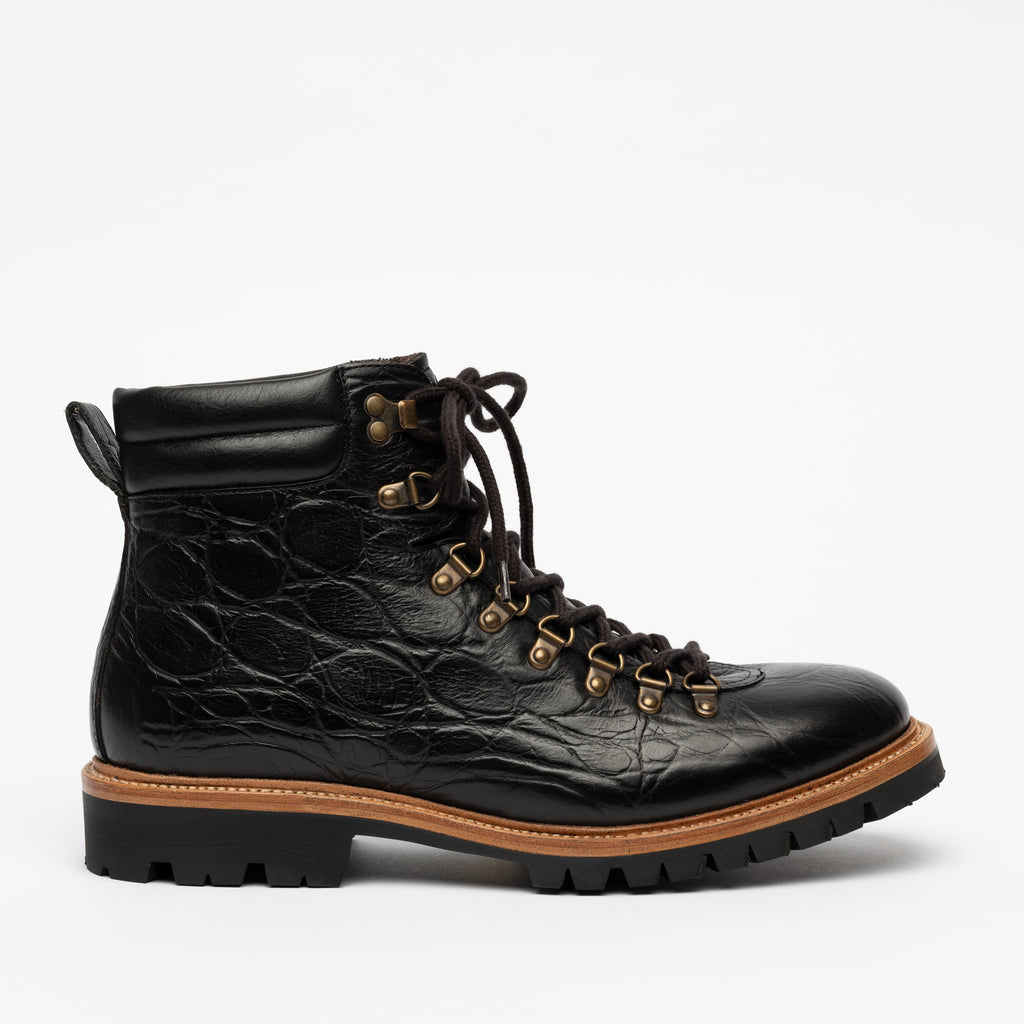 The Viking Boot in Ebony (Last Chance, Final Sale)