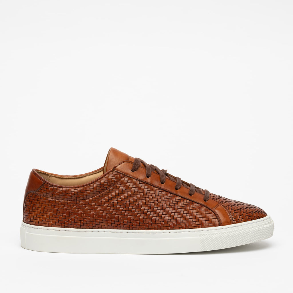 Sneaker in Woven side view