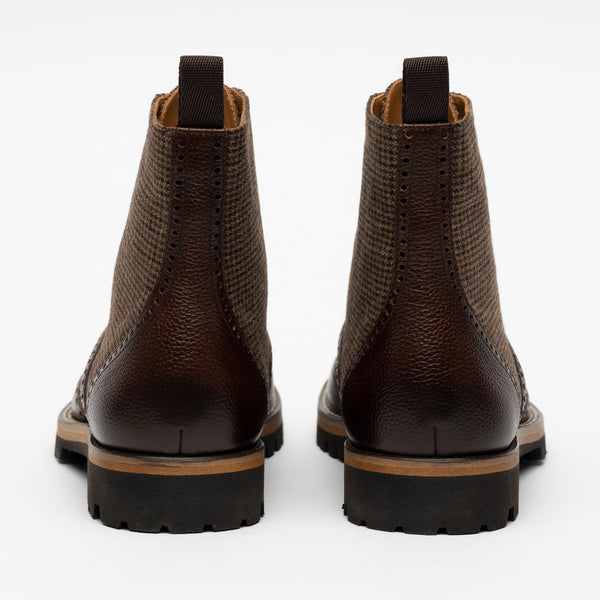 Holt Boot in Espresso back view