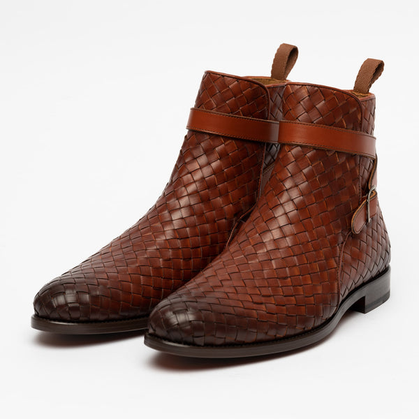 The Dylan Boot in Woven side