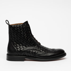 Saint Boot in Black side view