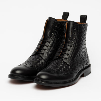 The Saint Boot in Black