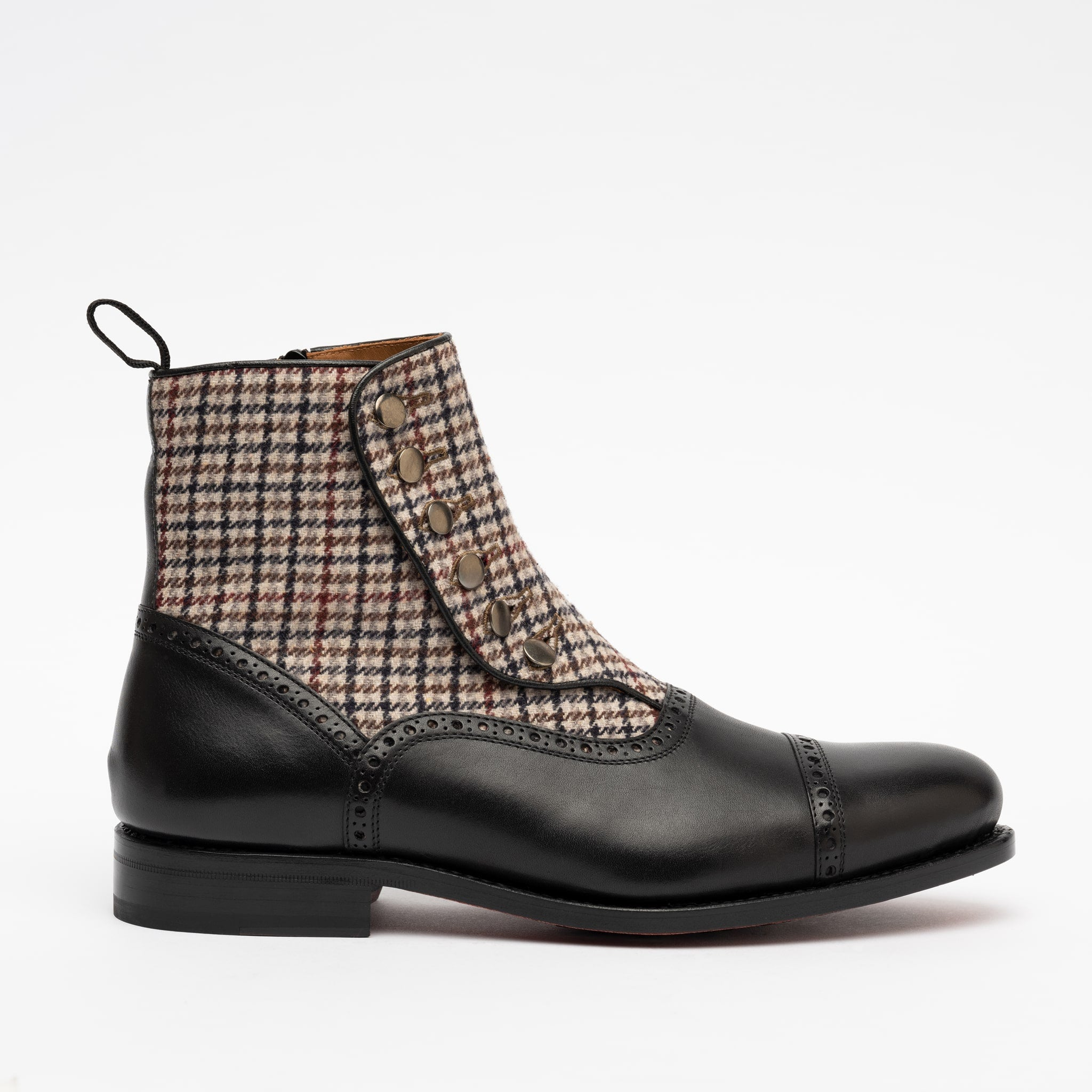 Branson Boot in Black Side