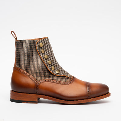 Branson Boot in Honey Side