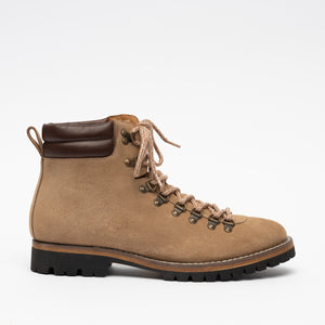 Viking boot in Beige side view