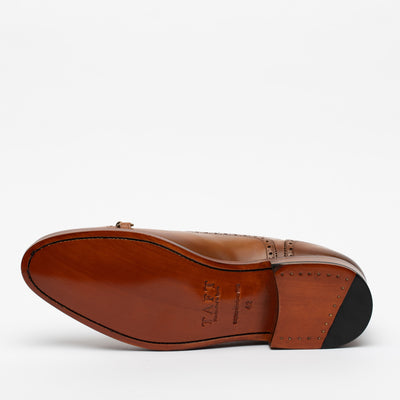 The Grail Shoe in Honey Bottom Sole