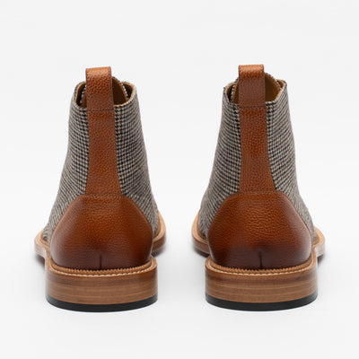 Jack Boot in Walnut back view