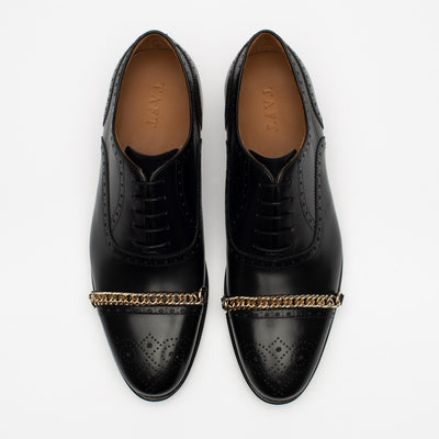 The Grail Shoe in Black Top