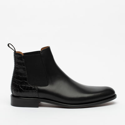 The Hiro Boot in Midnight