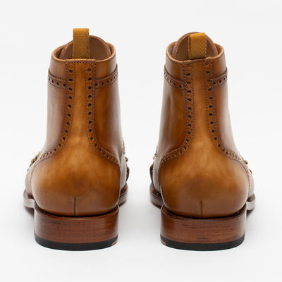 The Grail Boot in Honey Back