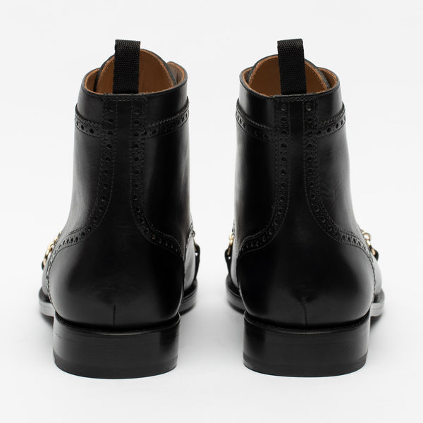 The Grail Boot in Black Back