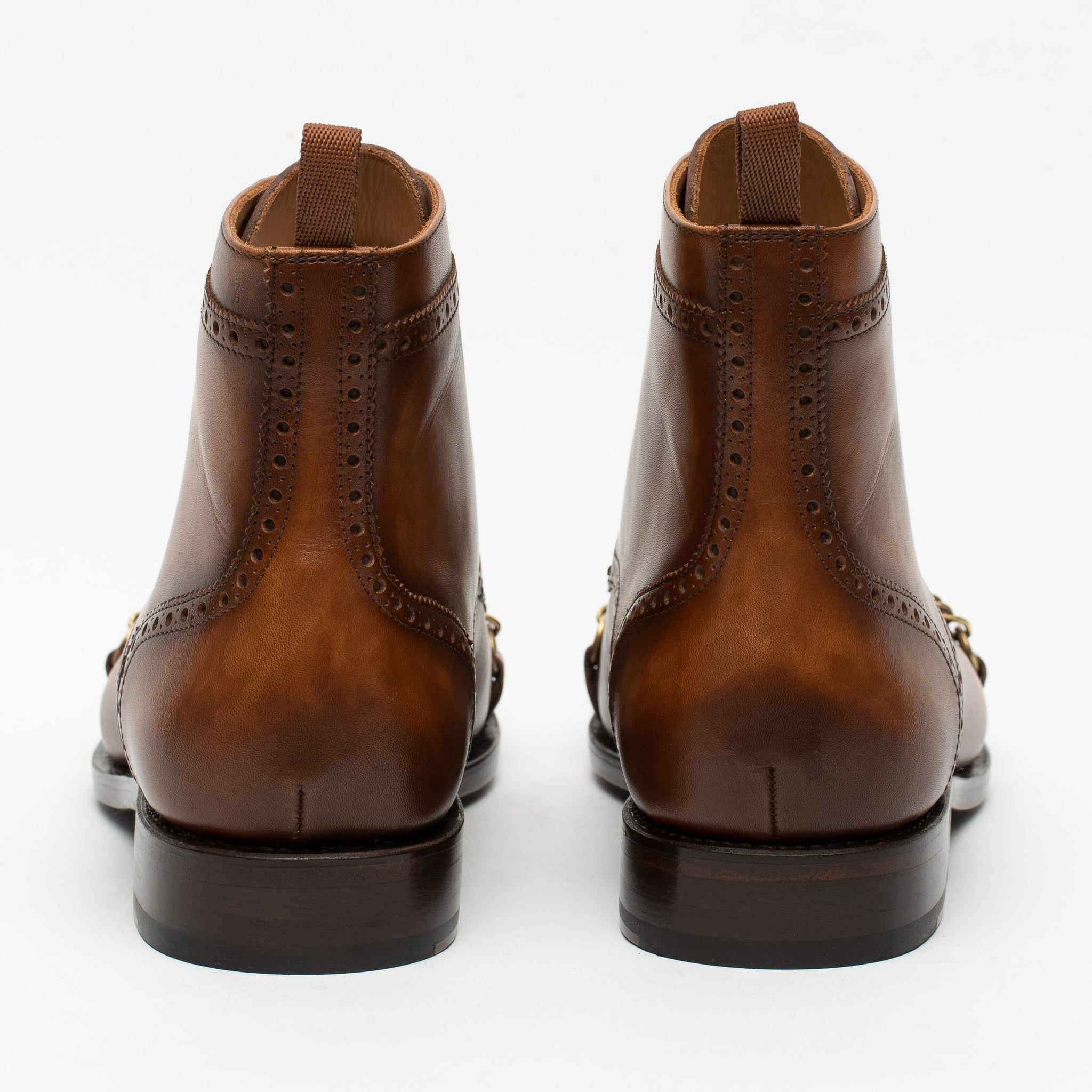 The Grail Boot in Coffee Back