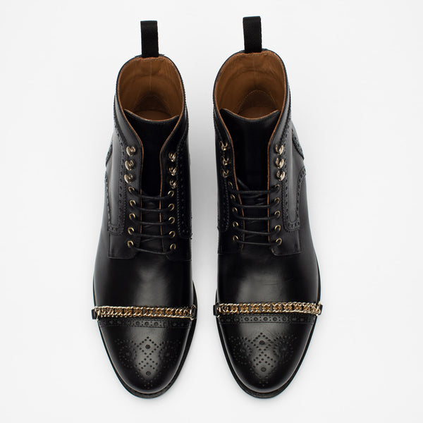 The Grail Boot in Black Top
