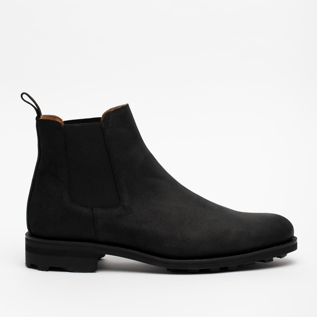 Drake boot side view