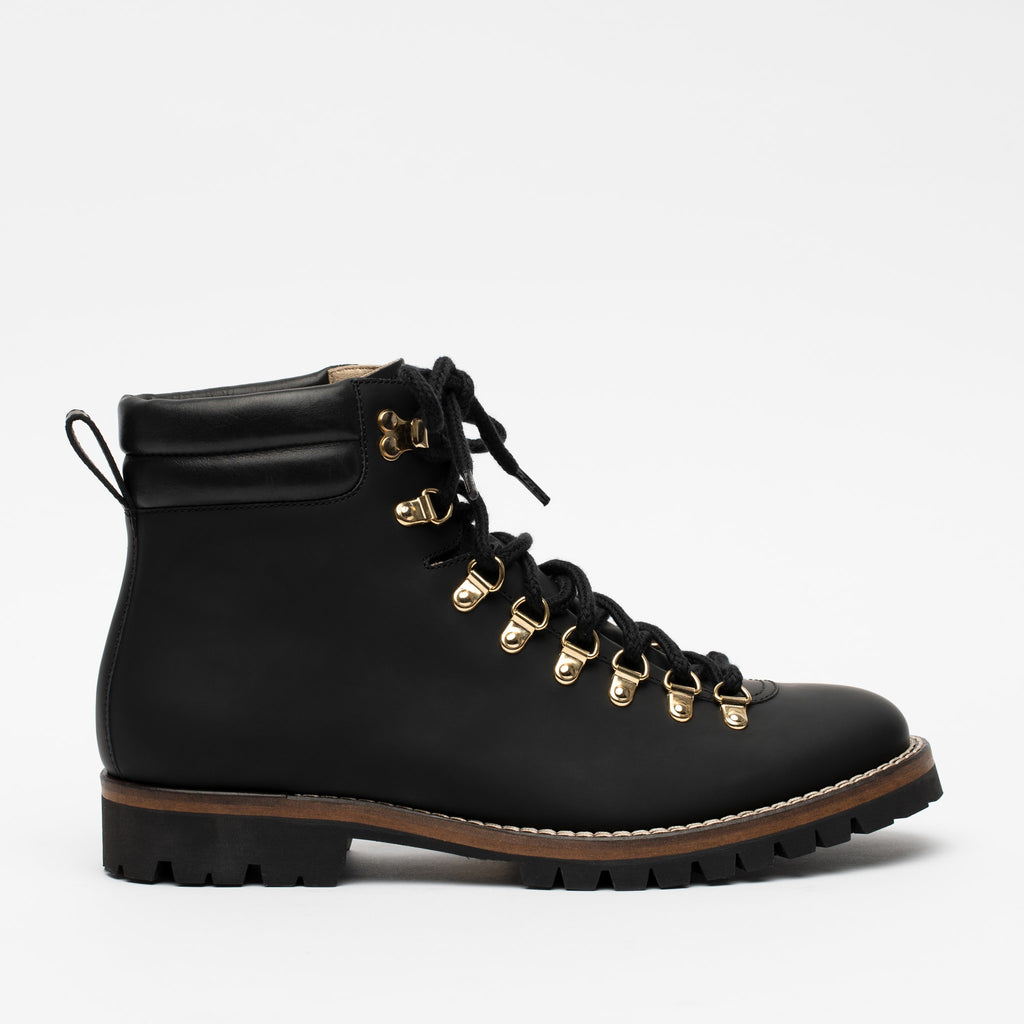 Viking Boot in Midnight Side View