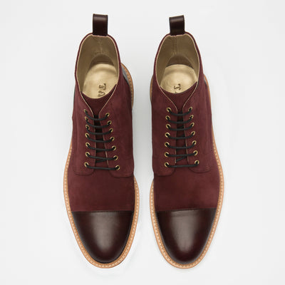 Troy Boot Oxblood Top