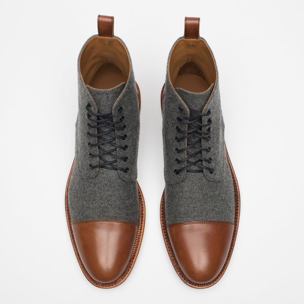 Jack Boot in Grey/Brown top view