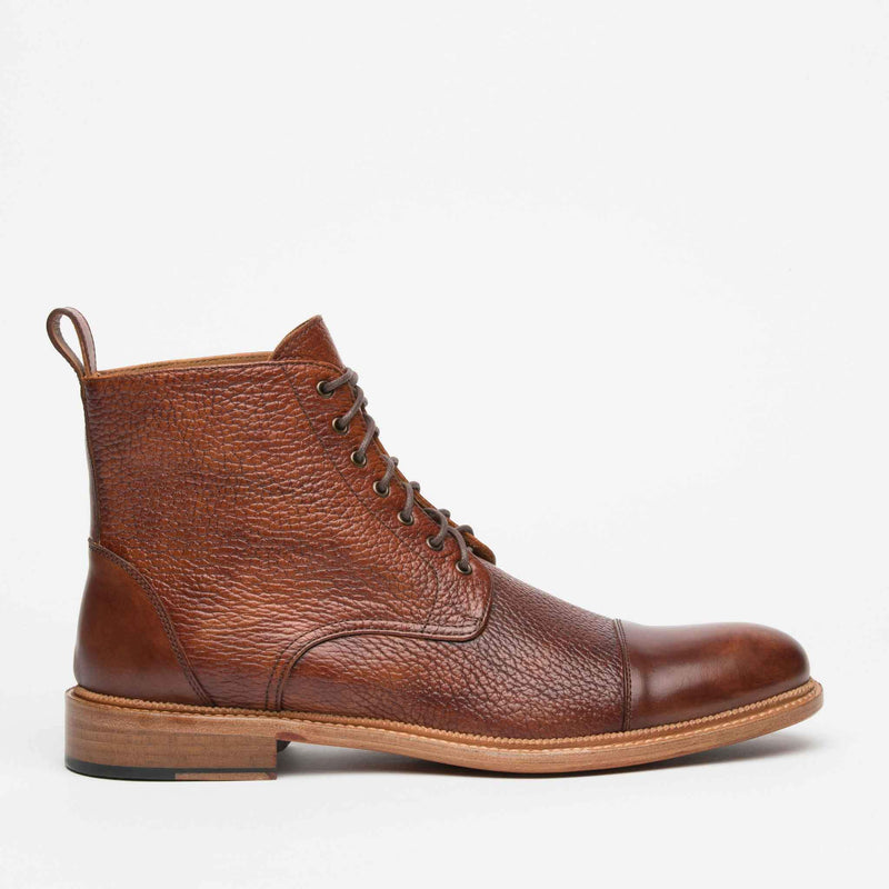 Rome Boot Brown Side