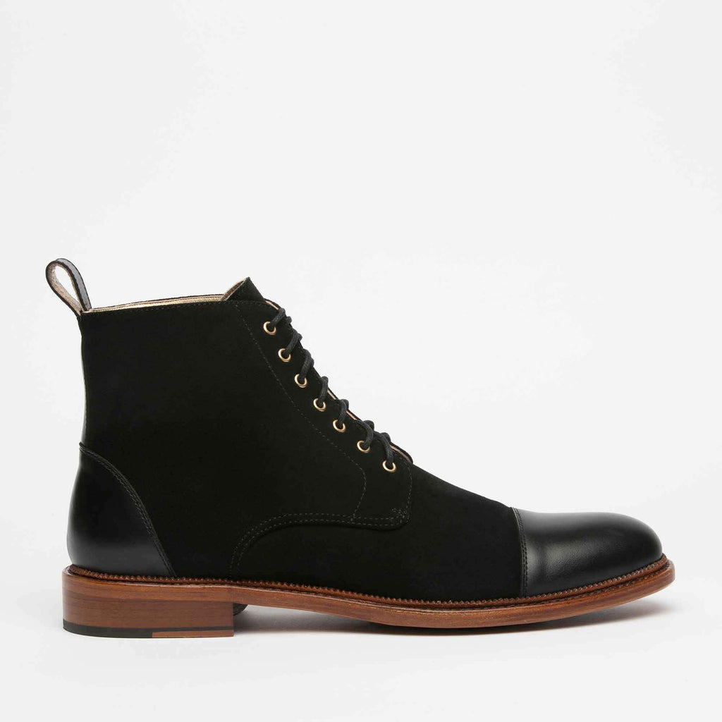 Troy Boot Black Side
