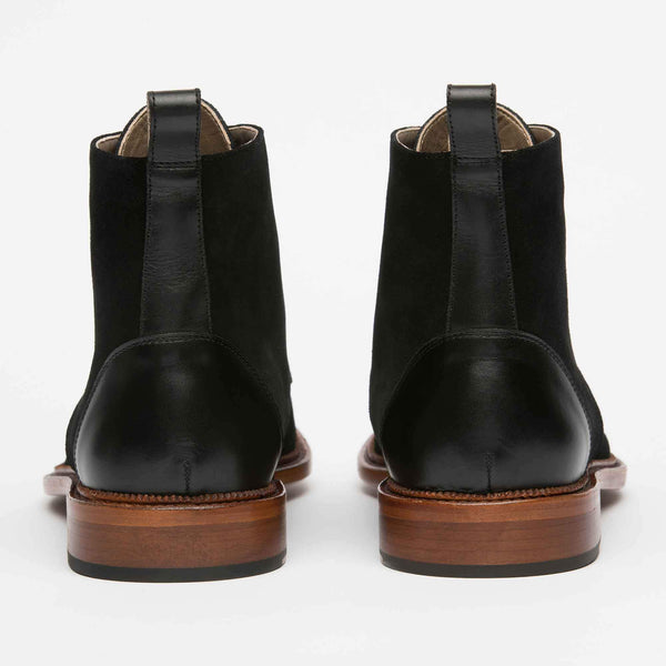 Troy Boot Black Back