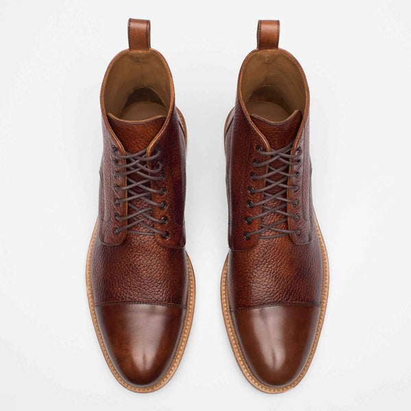 Rome Boot Brown Top