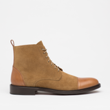 The Troy Boot in Ochre (SECONDS)