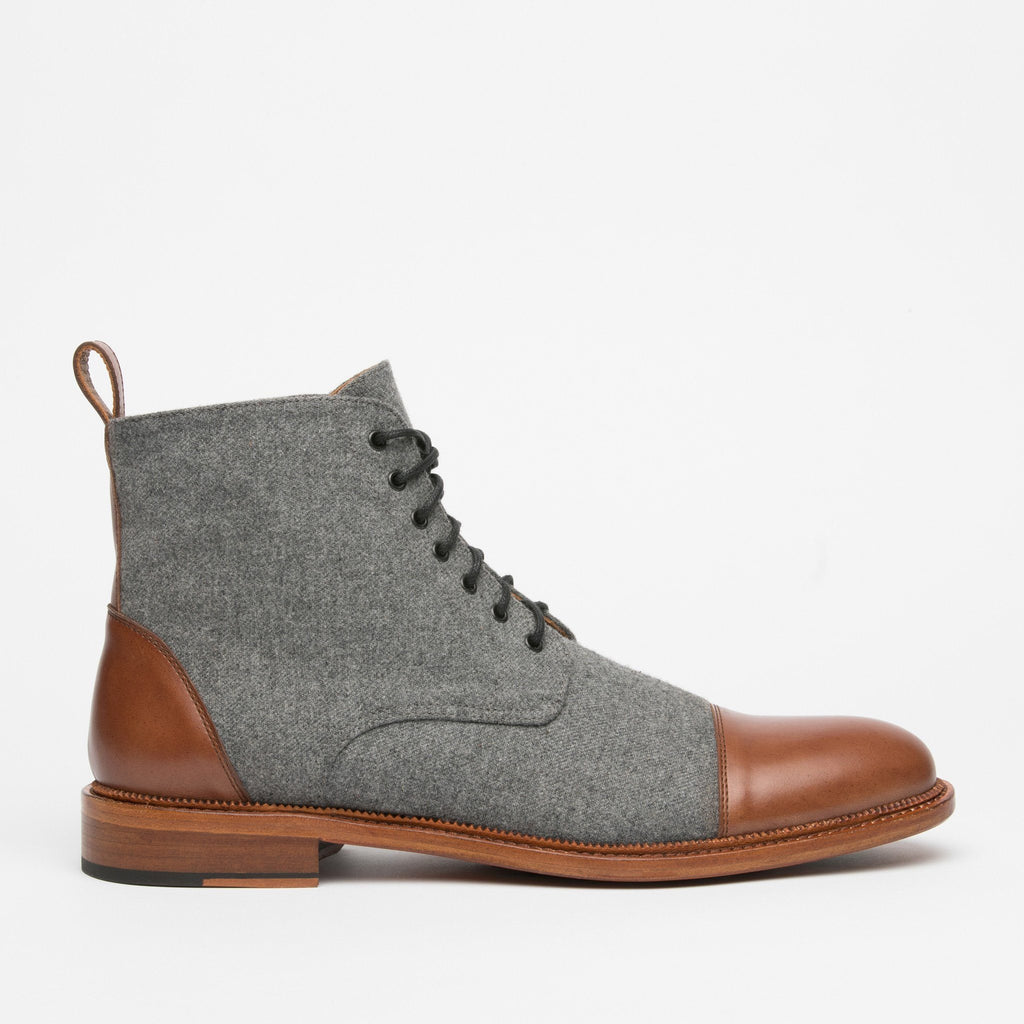 The Jack Boot in Grey/Brown (Seconds)