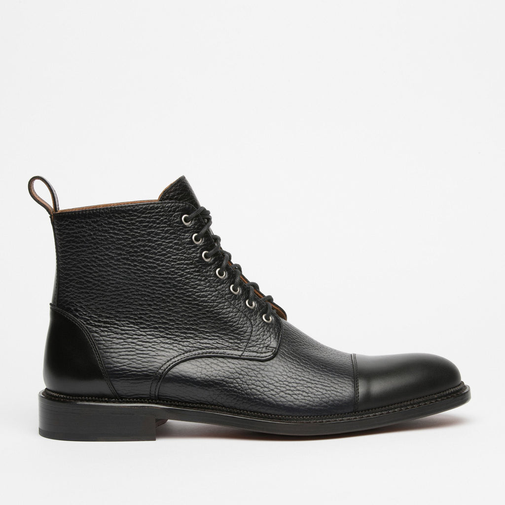 Rome Boot Black Side