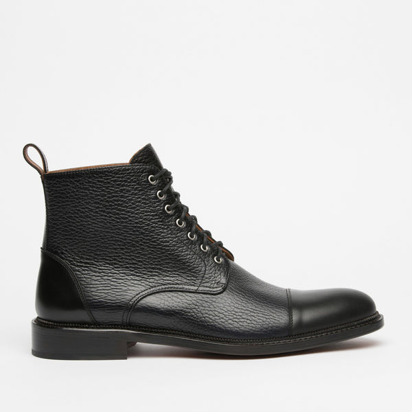 The Rome Boot in Black