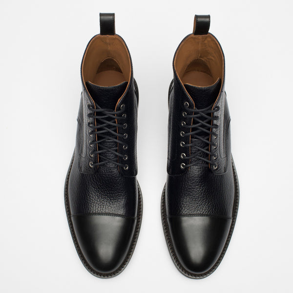 Rome Boot Black Top